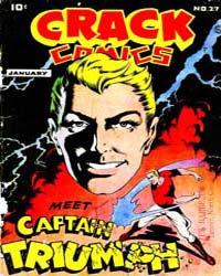 Crack Comics : Issue 27 Volume Issue 27 by Quality Comics