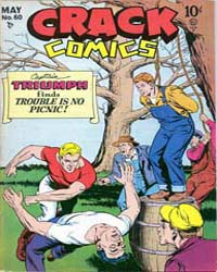 Crack Comics : Issue 60 Volume Issue 60 by Quality Comics