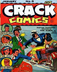 Crack Comics : Issue 9 Volume Issue 9 by Quality Comics