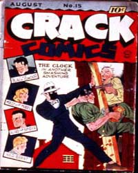 Crack Comics : Issue 15 Volume Issue 15 by Quality Comics