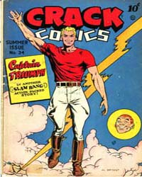 Crack Comics : Issue 34 Volume Issue 34 by Quality Comics