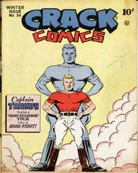 Crack Comics : Issue 36 Volume Issue 36 by Quality Comics