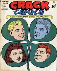 Crack Comics : Issue 46 Volume Issue 46 by Quality Comics