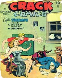 Crack Comics : Issue 56 Volume Issue 56 by Quality Comics