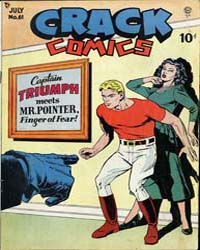 Crack Comics : Issue 61 Volume Issue 61 by Quality Comics