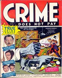 Crime Does Not Pay : Issue 22 Volume Issue 22 by Lev Gleason Publications