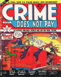 Crime Does Not Pay : Issue 82 Volume Issue 82 by Lev Gleason Publications