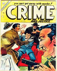 Crime and Justice : Issue 20 Volume Issue 20 by Charlton Comics