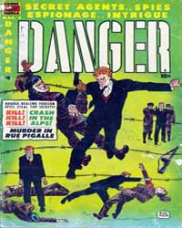 Danger : Issue 8 Volume Issue 8 by Comic Media