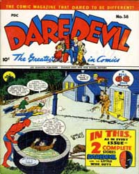 Daredevil Comics : Issue 38 Volume Issue 38 by Biro, Charles