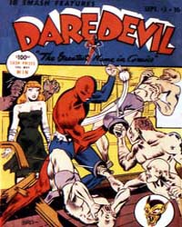 Daredevil Comics : Issue 3 Volume Issue 3 by Biro, Charles