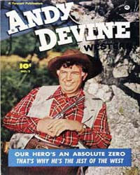 Andy Devine : Issue 2 Volume Issue 2 by Fawcett Magazine