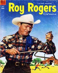 Roy Rogers: Issue 66 Volume Issue 66 by Dell Comics