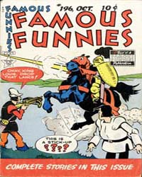 Famous Funnies : Issue 196 Volume Issue 196 by Eastern Color Printing Company