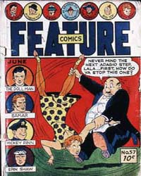 Feature Comics : Issue 57 Volume Issue 57 by Quality Comics