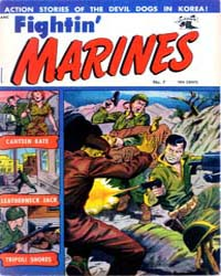 Fightin' Marines : Issue 7 Volume Issue 7 by St. John Publications