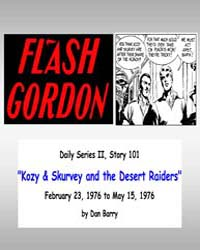 Flash Gordon : Kozy and Skurvey and the ... Volume Vol. 2, Issue 101 by Raymond, Alex