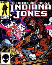 Further Adventures of Indiana Jones : Is... Volume Issue 34 by Marvel Comics