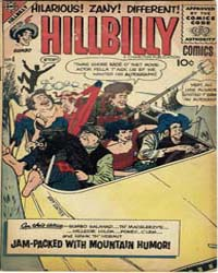 Hillbilly Comics : Issue 4 Volume Issue 4 by Charlton Comics