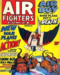 Air Fighters Comics : Vol. 1, Issue 6 Volume Vol. 1, Issue 6 by Hillman Periodicals