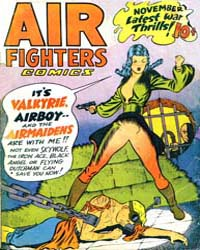 Air Fighters Comics : Vol. 2, Issue 2 Volume Vol. 2, Issue 2 by Hillman Periodicals