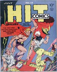 Hit Comics : Issue 13 Volume Issue 13 by Quality Comics