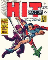 Hit Comics : Issue 24 Volume Issue 24 by Quality Comics