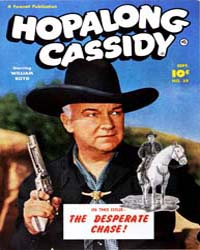 Hopalong Cassidy : Issue 59 Volume Issue 59 by Fawcett Magazine