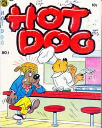 A-1 Comics : Hot Dog : Issue 107 Volume Issue 107 by Magazine Enterprises