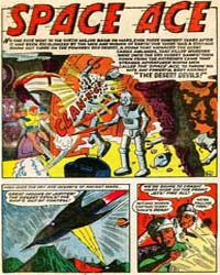 Jet Comics : Space Ace in the Desert Dev... Volume Issue 1 by Dc Comics