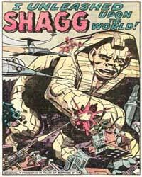 Journey into Mystery : I Unleashed Shagg... Volume Issue 59 by Atlas Comics