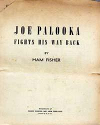 Joe Palooka : Fights His Way Back by Fisher, Ham