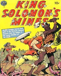 King Solomon's Mines by Avon Comics