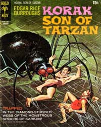 Korak, Son of Tarzan : Issue 39 Volume Issue 39 by Gold Key Comics