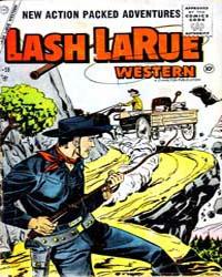 Lash Larue Western : Issue 59 Volume Issue 59 by Charlton