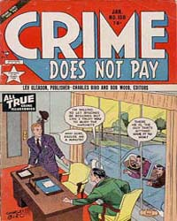 Crime Does Not Pay : Issue 106 Volume Issue 106 by Lev Gleason Publications