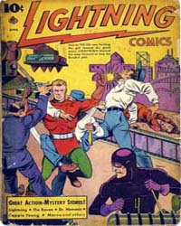 Lighting Comics : Vol. 2, Issue 6 Volume Vol. 2, Issue 6 by Ace Comics