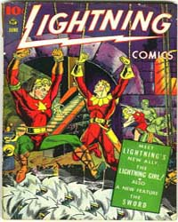 Lighting Comics : Vol. 3, Issue 1 Volume Vol. 3, Issue 1 by Ace Comics