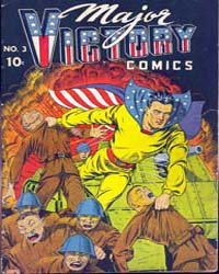 Major Victory Comics: Issue 3 Volume Issue 3 by Harry A Chesler Comics