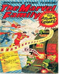 Marvel Family: Issue 76 Volume Issue 76 by Binder, Otto