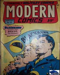 Modern Comics: Issue 45 Volume Issue 45 by Quality Comics