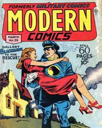 Modern Comics: Issue 59 Volume Issue 59 by Quality Comics