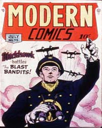 Modern Comics: Issue 75 Volume Issue 75 by Quality Comics