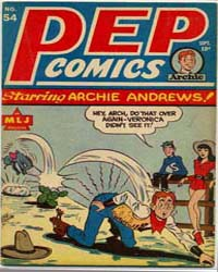 Pep Comics: Issue 54 Volume Issue 54 by Mlj/Archie Comics