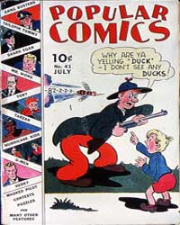 Popular Comics: Issue 41 Volume Issue 41 by Dell Comics