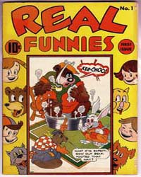Real Funnies: Issue 1 Volume Issue 1 by Better/Nedor/Standard/Pines Publications