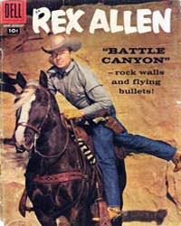 Rex Allen: Issue 29 Volume Issue 29 by Dell Comics