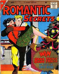 Romantic Secrets: Issue 20 Volume Issue 20 by Charlton Comics