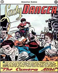 Sensation Comics: Lady Danger: Issue 89 Volume Issue 89 by Infantino, Carmine