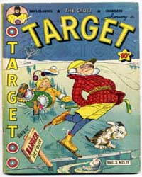 Target Comics: Volume 3, Issue 11 by Briefer, Dick